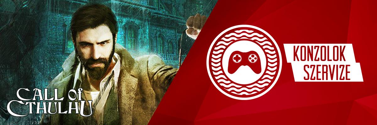 Call of Cthulhu videojáték 2000 forint kedvezménnyel az egyesület tagjai számára a Konzolok Szervizétől!